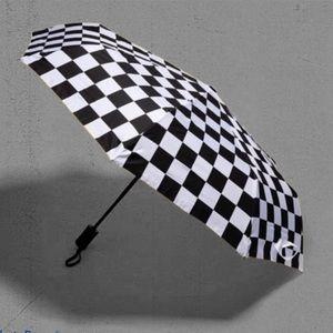 VANS Family Umbrella Checkerboard Black White